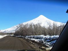 Vulcão Lanin - Caminho San Martins de Los Andes (Argentina) a Pucon (Chile)