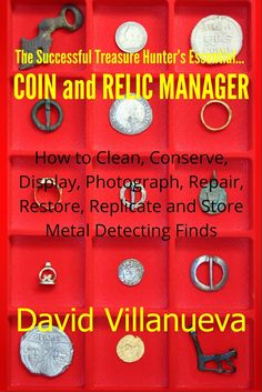 What to do with and restore your finds. metal detecting books | Metal Detecting
