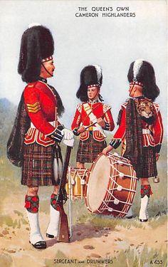 valentine bagpiper   Scotland UK - Scottish Highlanders, Uniforms - Postcards - (Bagpipe ...