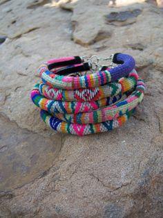 Peruvian Alpaca Wool Bracelet/Peruvian Textile by SumaqOke on Etsy, $10.00