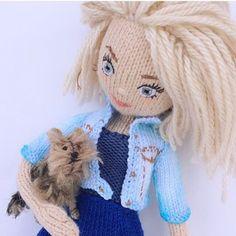 Вязаные куклы Валеры Караван