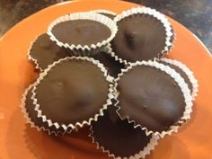 Paleo Friendly Dark Chocolate Almond Butter Cups