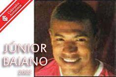 Júnior Baiano, passagem discreta e depois processo contra o Inter.