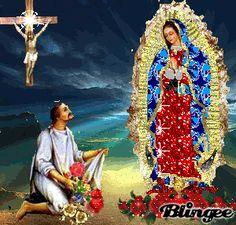 Lindasimágenesde Virgen de Guadalupe, nuestraMorenita del Tepeyac,   con movimiento para que selasenvíena sus familiares y amigos,e...