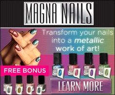 Magna Nails, Easy Magnetic Designed Nail Polish The hot new nail trend!