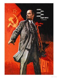Propaganda: Lenin poster