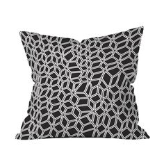 Geometry in Motion Pillow Cover