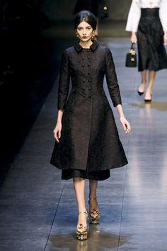 Dolce & Gabbana (beautiful coat, the shoes are not my style)