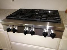 kitchenaid 36-Inch 6 Burner Gas Rangetop, Commercial-Style - Google Search
