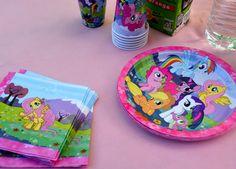 vaisselle carton my little pony Anniversaire My Little Pony, Lunch Box, Tableware, Bento Box