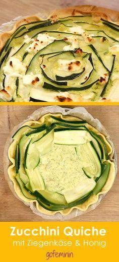 Zucchini-Quiche mit Hilfe dieser Videoanleitung selber machen!