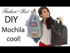 DIY Mochila de Jeans | Fashion Riot - YouTube