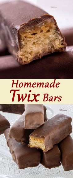 Homemade Twix Bars.  Delicious and fun to make. These bars are the best!   http://www.winnish.net/2013/06/39/