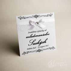 """Svadobné etikety """"Biela romanca"""" Vytvorili sme pre Vás romantické etikety na výslužky v jemnom svadobnom prevedení. Place Cards, Place Card Holders"""