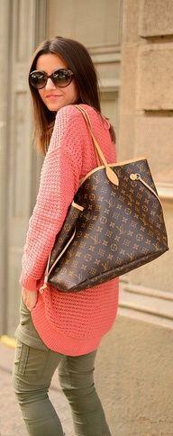 Sunglasses and Louis Vuitton Handbag ($180.00 )..I like it,so cool
