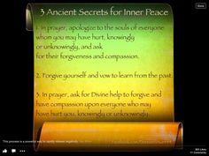 Doreen Virtue - 3 Ancient Secrets for Inner Peace