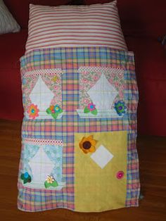 Attempting Mary Poppins: AT LAST!! The DOLLHOUSE PILLOW!!!