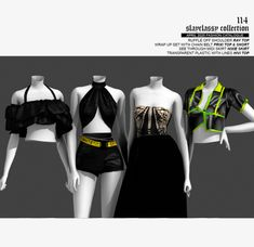 Sims 4 Mods Clothes, Sims 4 Clothing, Sims Mods, Sims 4 Cas, Sims Cc, Kpop Fashion Outfits, Stage Outfits, Sims 4 Piercings, Sims 4 Traits