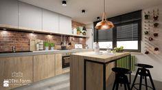 kuchnia rustykalna - zdjęcie od MOTHI.form