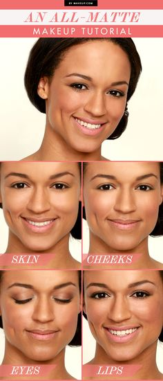 An ALL-Matte Makeup Look