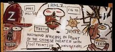Hollywood Africans in Front of the Chinese - Jean-Michel Basquiat