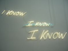 Neon Lights by Tracey Emin | Possibly my favourite neon light installation by Emin, nommmm.