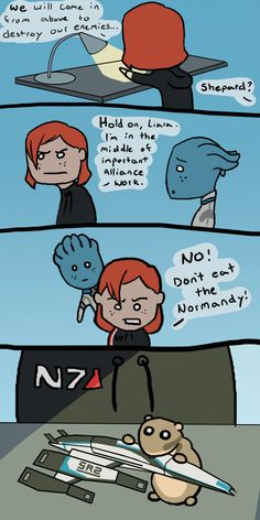 Mass Effect - Space Hamster