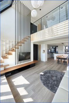 47 Modern And Minimalist Interior House Design Ideas ~ Ideas for House Renovations Contemporary Interior Design, Luxury Interior Design, Luxury Decor, Modern Design, Loft Design, House Design, Modern Hallway, Interior Minimalista, Minimalist Home Interior