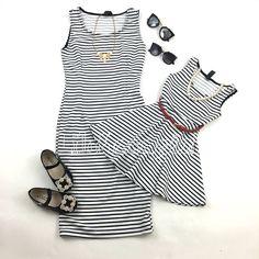 Stripes dress (Mommy & Me)