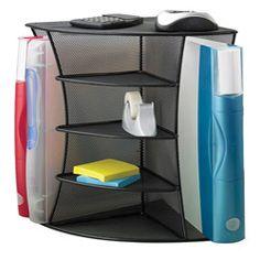 Safco Mesh Desk CORNER! Organizer | Overstock.com Shopping - Top Rated Safco Desk Organizers