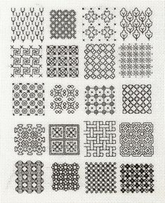 Blackwork Fill-in 1 | Flickr - Photo Sharing!