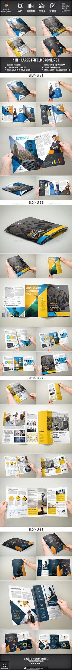 Brochure - Corporate Brochure Template InDesign INDD. Download here: http://graphicriver.net/item/brochure/12779253?s_rank=1797&ref=yinkira