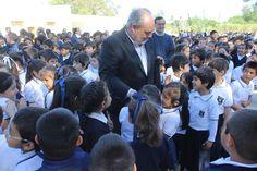 RESPALDO DEL GOBIERNO PROVINCIAL A LA EDUCACIÓN: Colombi inauguró Playón Deportivo en el Colegio Santísimo Sacramento #ArribaCorrientes