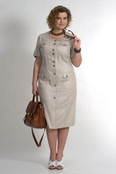 Models of summer dresses for puffy ladies 2017 . 60 Fashion, Plus Size Fashion, Fashion Outfits, Womens Fashion, Plus Size Maxi Dresses, Casual Dresses, Summer Dresses, Linen Dresses, Cotton Dresses