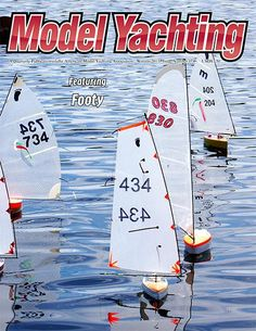 Footy Class R/C Sailboat Model Sailboats, Rc Glider, Model Boat Plans, Kayak Boats, Wood Boats, Boat Building, Model Ships, Radio Control, Surfboard