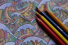 The Therapeutic Science Of Adult Coloring Books: How This Childhood Pastime Helps Adults Relieve Stress Adult coloring books have recently gained popularity for their stress-relieving abilities, but what is the science behind this international trend? Coloring Book Art, Adult Coloring, Coloring Pages, Colouring, Free Coloring, Fantasy Warrior, Lulu Lemon, Art Journal Pages, Art Therapy Activities