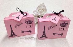 Suitcase Wedding Favours, Destination Wedding Favours, Suitcase Paris Style  on Etsy, $37.25 CAD
