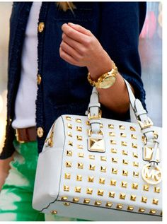 Micheal Kors Satchel and outfit