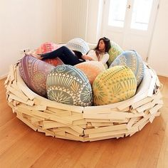 Nest! I want this for a bed one day!