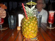 My fravorite, Light rum, Dark rum and Pineapple