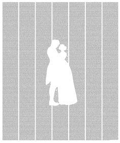 Jane Eyre: The Entire Novel Printed On a Poster. Words cannot describe how much I would freak out if I had this. This is one of my favorite books.