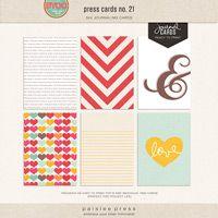 press cards no. 21