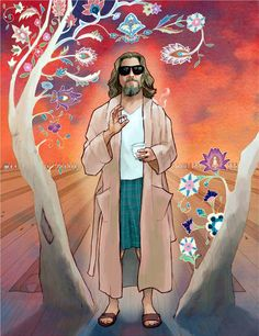 Big Lebowski - Chris McGuire - ''Nobody Fucks with the Jesus'' ---- El Gran Lebowski, The Big Lebowski, Fallout Posters, Dudeism, Coen Brothers, Non Plus Ultra, Alternative Movie Posters, Book Tv, Minimalist Poster