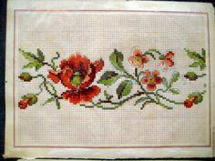 Купить 19 век. Вышивка крестиком. 6 листов или 12 изображений - винтаж, ретро