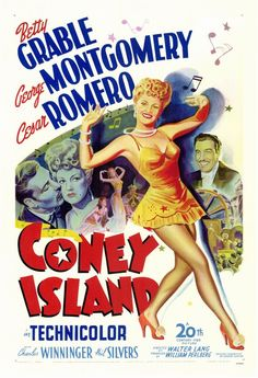 CAST: Betty Grable, George Montgomery, Cesar Romero, Charles Winninger, Phil Silvers, Matt Briggs ; DIRECTED BY: Walter Lang;  great technicolor fun.