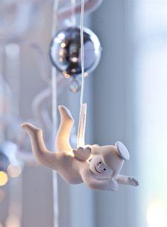 Popular  Weihnachtsdekoration Sirius Sirius Home Dekorative Beleuchtung Wei Transparent Silber Batterie Akku LED Hier klicken um wei u Pinterest
