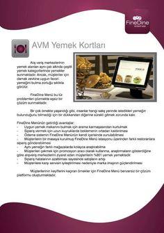 Food courts with iPad Menus.  http://www.finedinemenu.com/