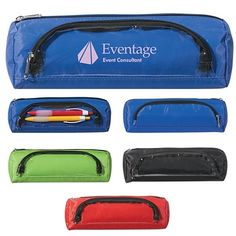 Promotional Academic Zippered Pencil Case #school #logo #advertising #promoproducts | Customized Academic Zippered Pencil Case | Logo Pencil Cases