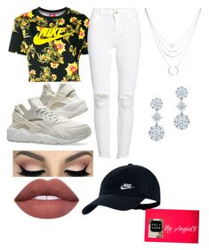 A fashion look from March 2018 featuring logo t shirts, distressed jeans and nike athletic shoes. Browse and shop related looks. Distressed Jeans, Polyvore Fashion, Athletic Shoes, Fashion Looks, Nike, Denim, Clothing, T Shirt, Shopping