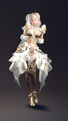 「マビノギ英雄伝」11人目のキャラはバスタードソードを使う女騎士。「デリア」が4月27日のアップデートで実装へ - 4Gamer.net